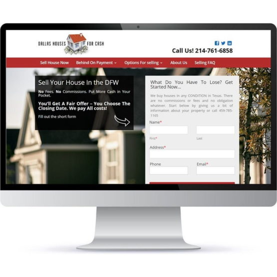Fiesta Web Services - Dallas Houses for Cash. Real Estate Investment Company in Dallas