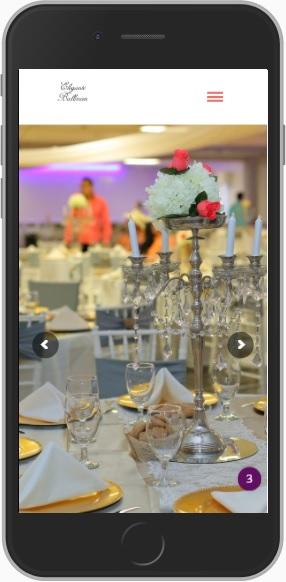 Salon de Fiestas Elegante Ballroom mobil
